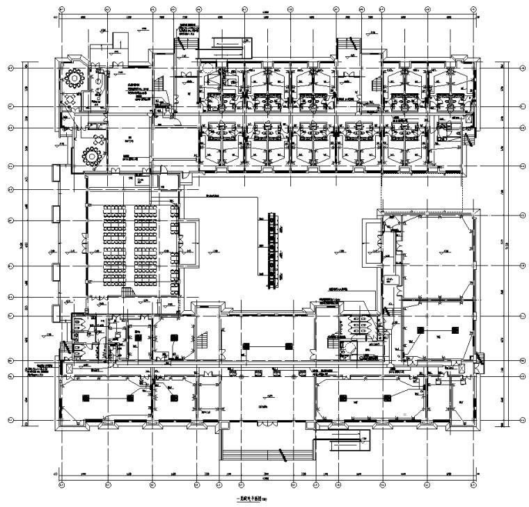 江苏多层办公楼项目电气施工图纸