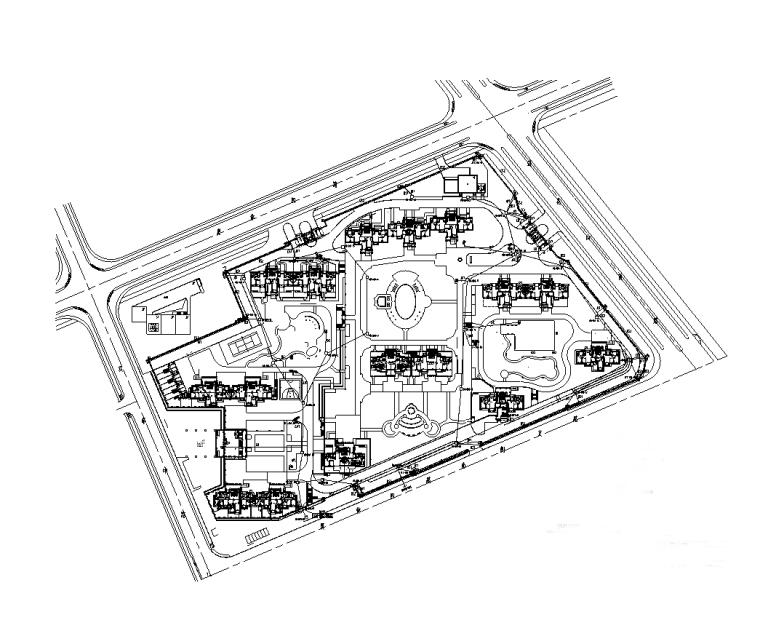 安徽15万平居住楼电气智能化设计图