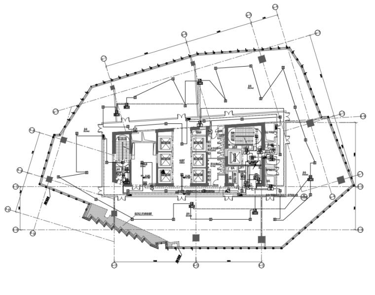 上海295万平商业综合体机电全套图纸1904张