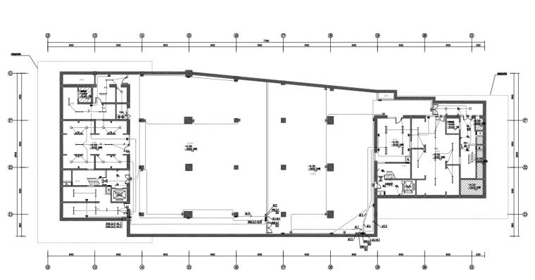 深圳一类高层公共建筑电气施工图(全专业)