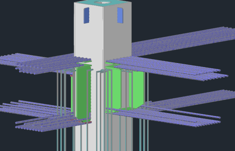 科技研发厂房地下室顶板梁柱焊接施工方案