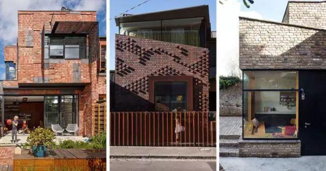 14个现代砖瓦住宅建筑设计