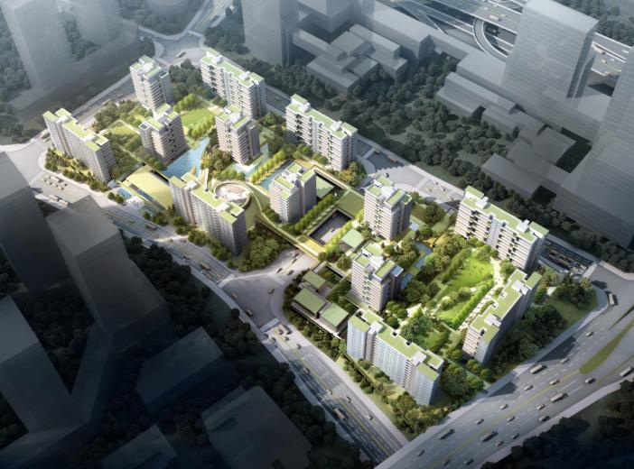 重庆照母山居住项目概念方案设计文本