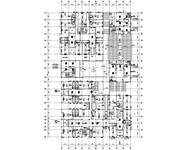 陕西汉中_汉街项目暖通施工图