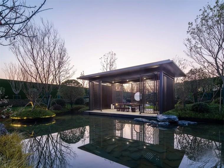 武汉美好长江院子景观