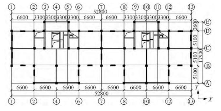 钢框架-防屈曲钢板剪力墙在装配式钢住宅