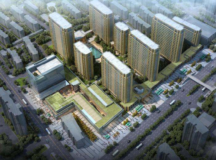 某地产高层花木商品房住宅规划设计方案文本