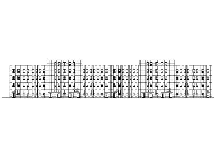 多层框剪结构厂房建筑全套施工图设计