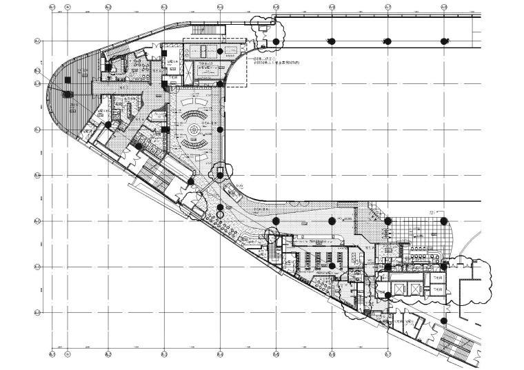 [上海]万象城室内溜冰场设计施工图+效果图