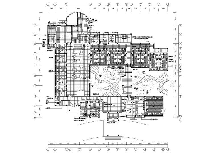 某四层宾馆装饰工程设计施工图