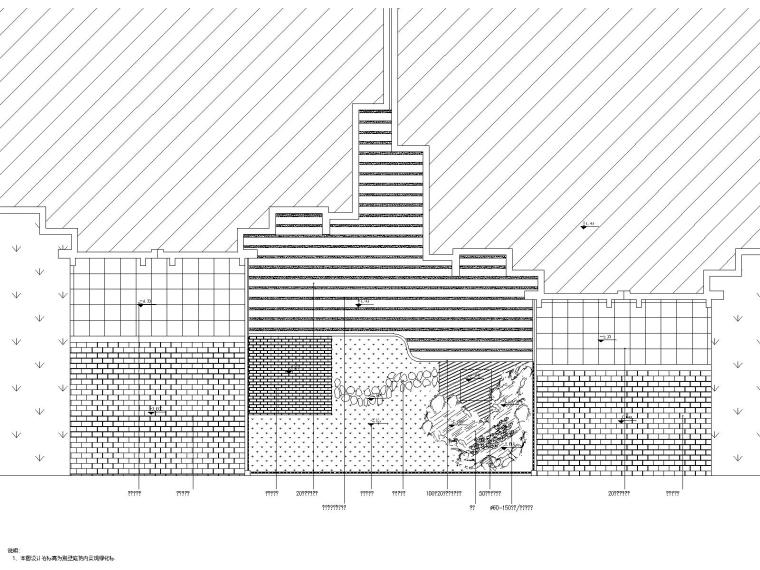 铺装形式总平面图