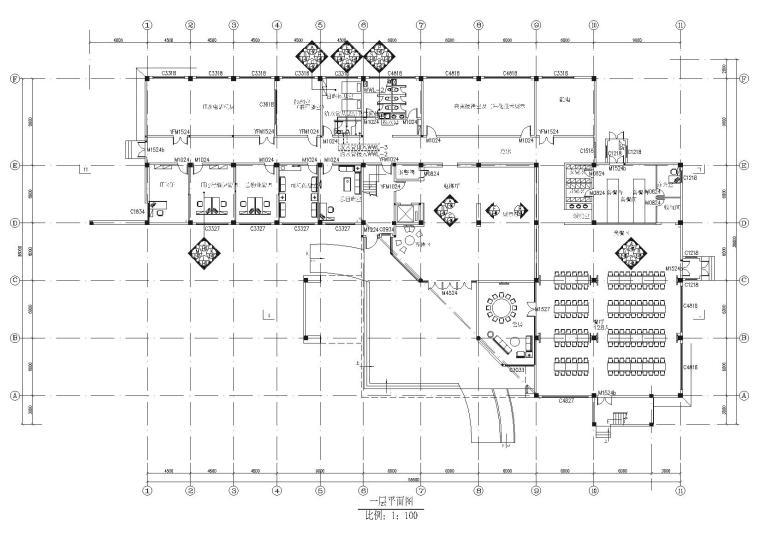 化工研究院信息管理大楼装饰设计项目施工图