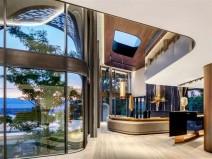 瑞士日内瓦湖地区的轻奢风格的住宅