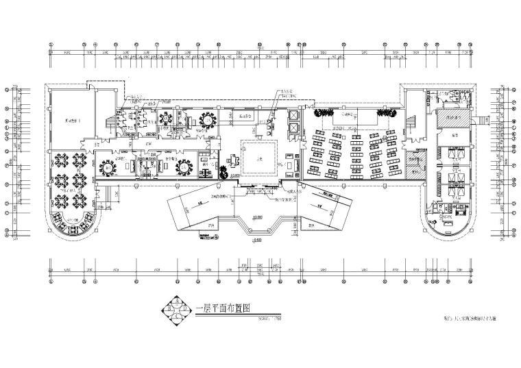 [西藏]拉萨某培训中心酒店装饰设计施工图