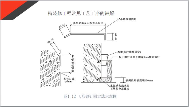 精装修工程墙地砖常见工艺工序