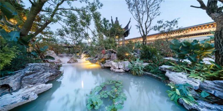 居住区园林景观风格及种植设计
