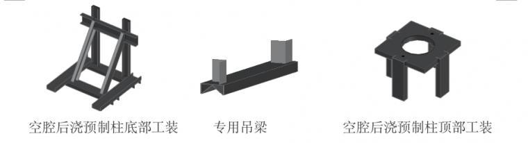 空腔后浇预制柱设计、制作、运输与安装过程_6