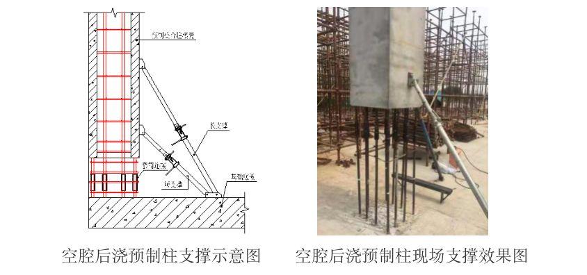 空腔后浇预制柱设计、制作、运输与安装过程_11