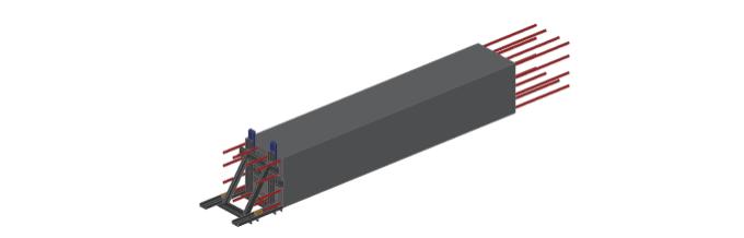 空腔后浇预制柱设计、制作、运输与安装过程_7