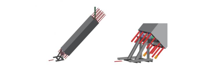 空腔后浇预制柱设计、制作、运输与安装过程_8