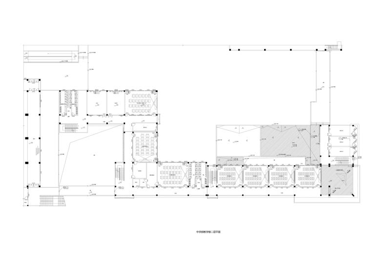 5_中学部教学楼二层平面