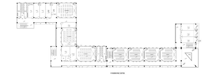 5_中学部教学楼三层平面