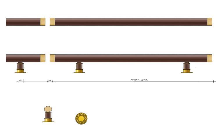 高端景观栏杆标准化设计施工图 (11)