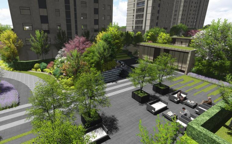 [浙江]现代风格居住区景观方案设计