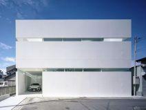 日本独栋极简纯白+混凝土亲子宅