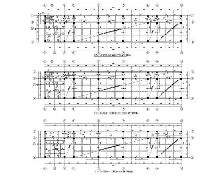 某5层框架结构教学楼办公楼施工图(CAD)