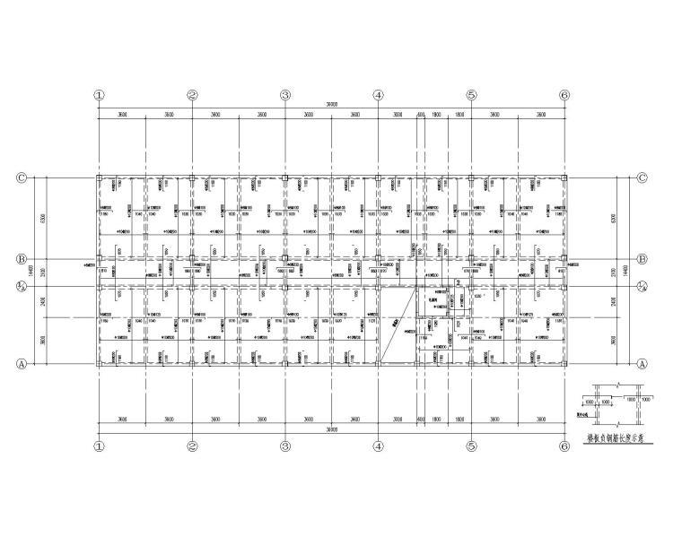 某四层宾馆混凝土结构施工图(CAD)