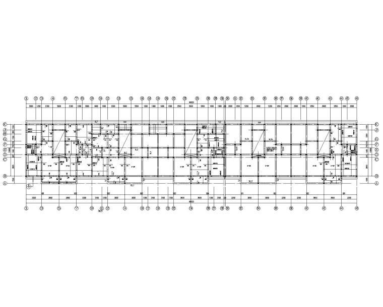 某四层住宅砖混结构施工图(CAD)