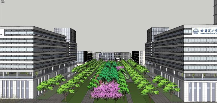 [安徽]现代风格办公楼建筑模型设计