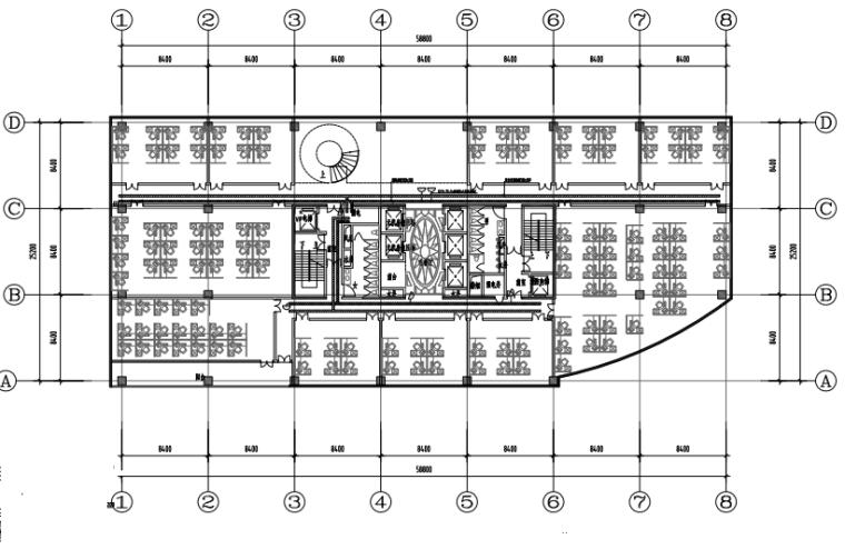 深圳30层商业综合体电气施工图