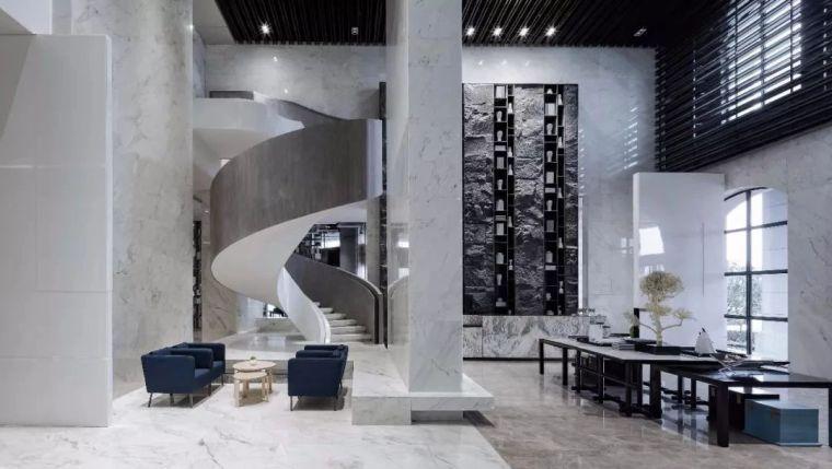 沣东绿地新里城售楼处设计方案+官方摄影