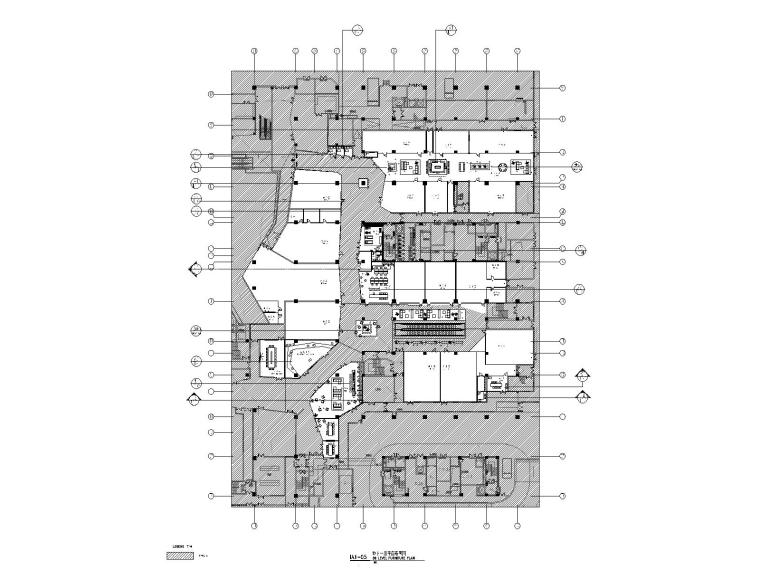 虹桥万科中心地下商业改造项目竣工图
