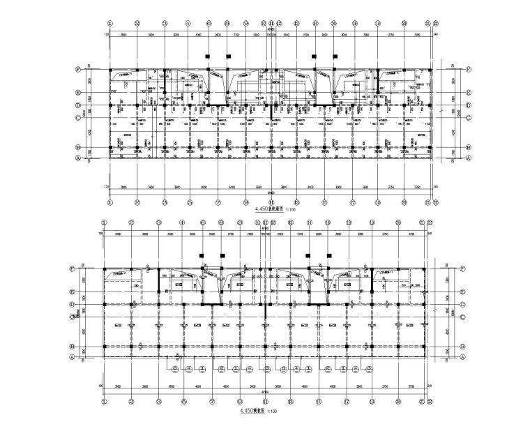 某五层商业住宅混凝土结构施工图(CAD)