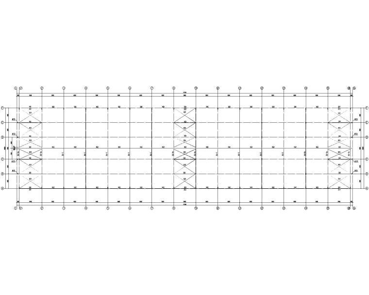 某汽车4S店钢结构施工图(CAD)