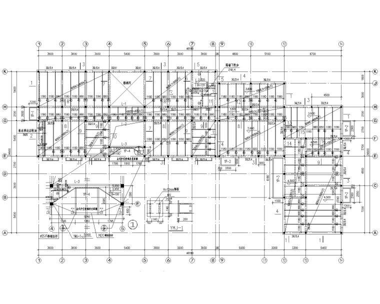 某三层办公楼砖混结构施工图(CAD)