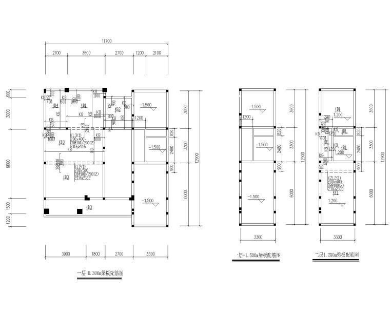 农村实景图资料下载-某四层农村自主房砖混结构施工图(CAD)
