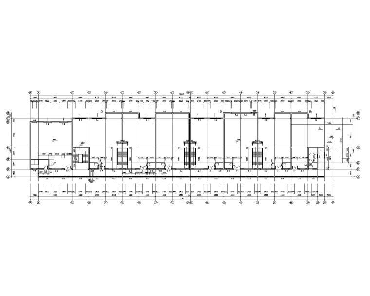 二层综合办公楼结构施工图(CAD含建筑图)