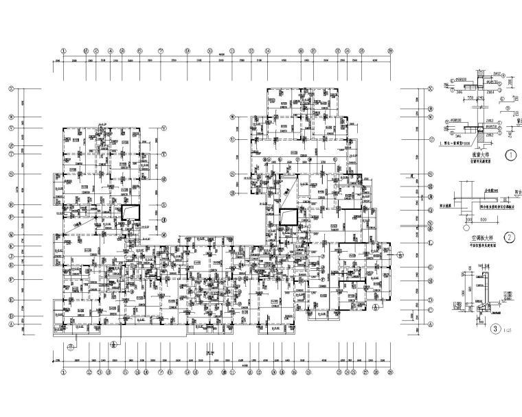 某8层住宅混凝土结构施工图(CAD)