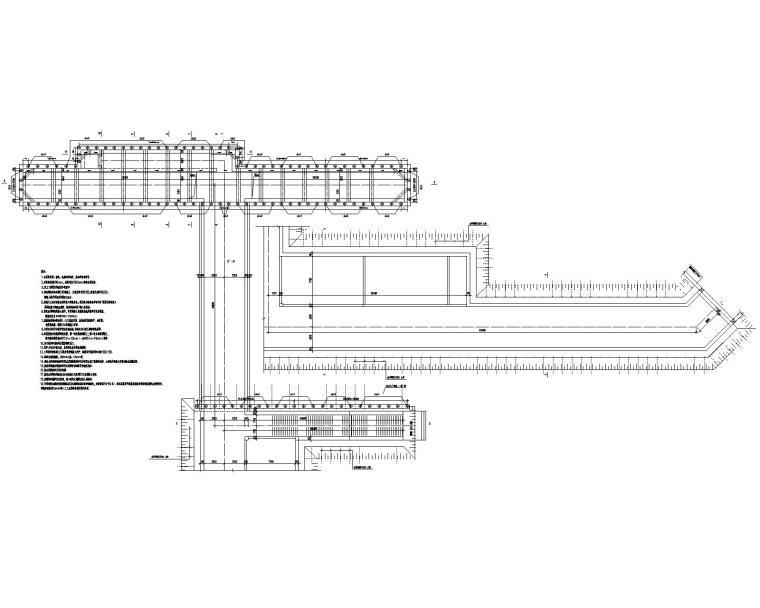 基坑围护及主体结构设计施工图(CAD)