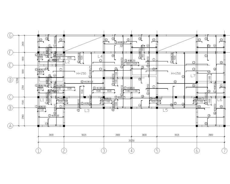 某2层农村自主房砖混结构施工图(CAD)