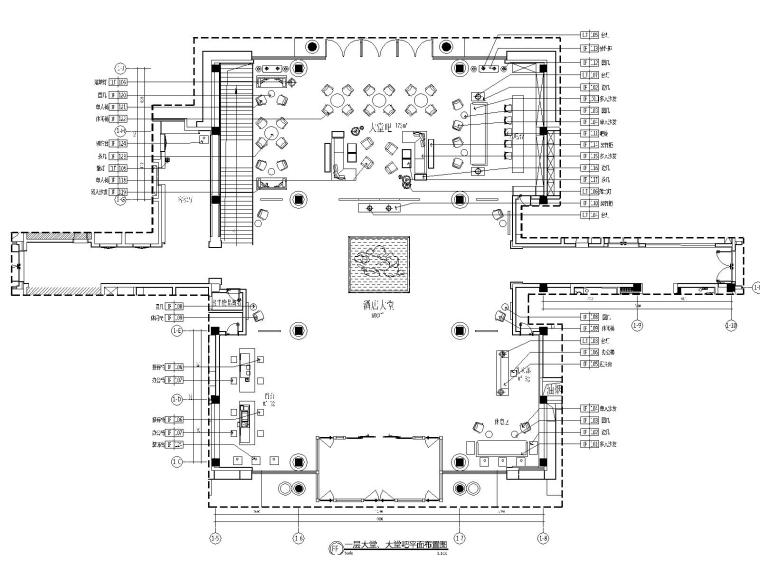 六安苍龙湖新中式度假酒店全套CAD施工图