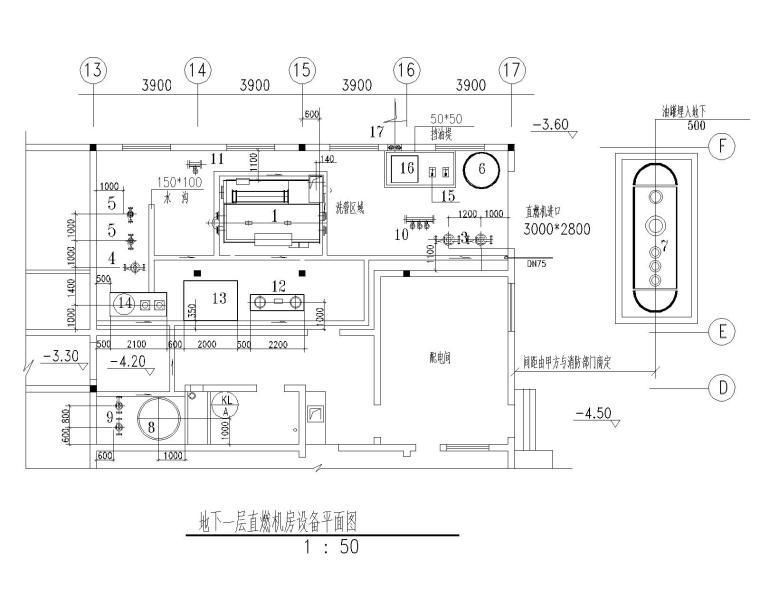 暖通设备图资料下载-某科技培训中心暖通施工图