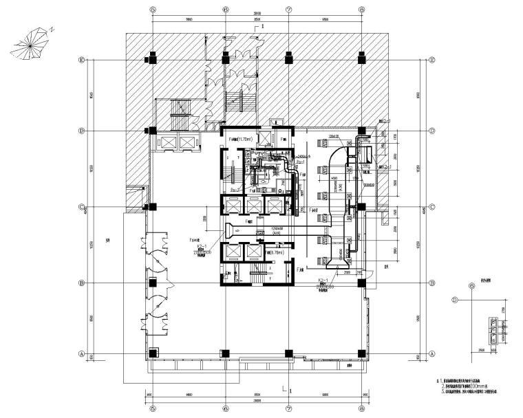 华润凤凰城商务区东区F座办公楼暖通施工图