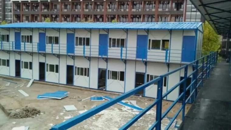 生活区活动板房施工方案
