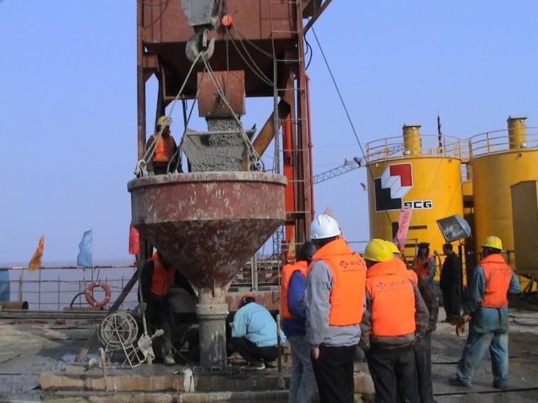 海上钻孔灌注桩施工技术研究报告