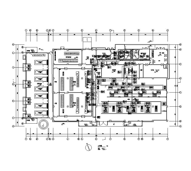 江苏数据中心电气招标图(含暖通水)